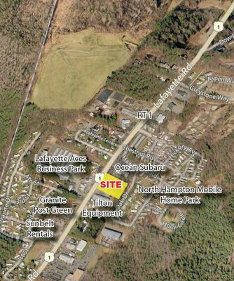 2 Acre Commercial Ground Lease; Rte 1